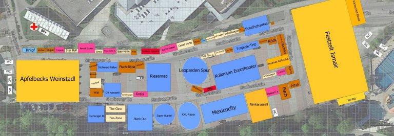 Grossansicht in neuem Fenster: Lageplan Kirta 2019
